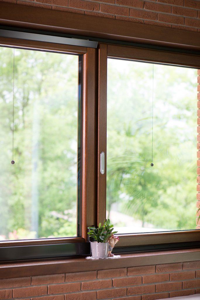 Produzione serramenti in legno e legno alluminio garone for Garone habitat